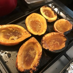 Family - Thanksgiving 2017 Buttered Squash.